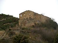 La Serra vista des del coll situat a l'est de la casa