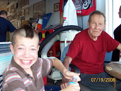 Grandpa White and Ty