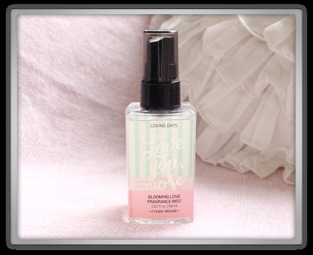 Cosmetic Love Random Etude House Haul beauty blog blogger love you more blooming love fragrance mist loving days