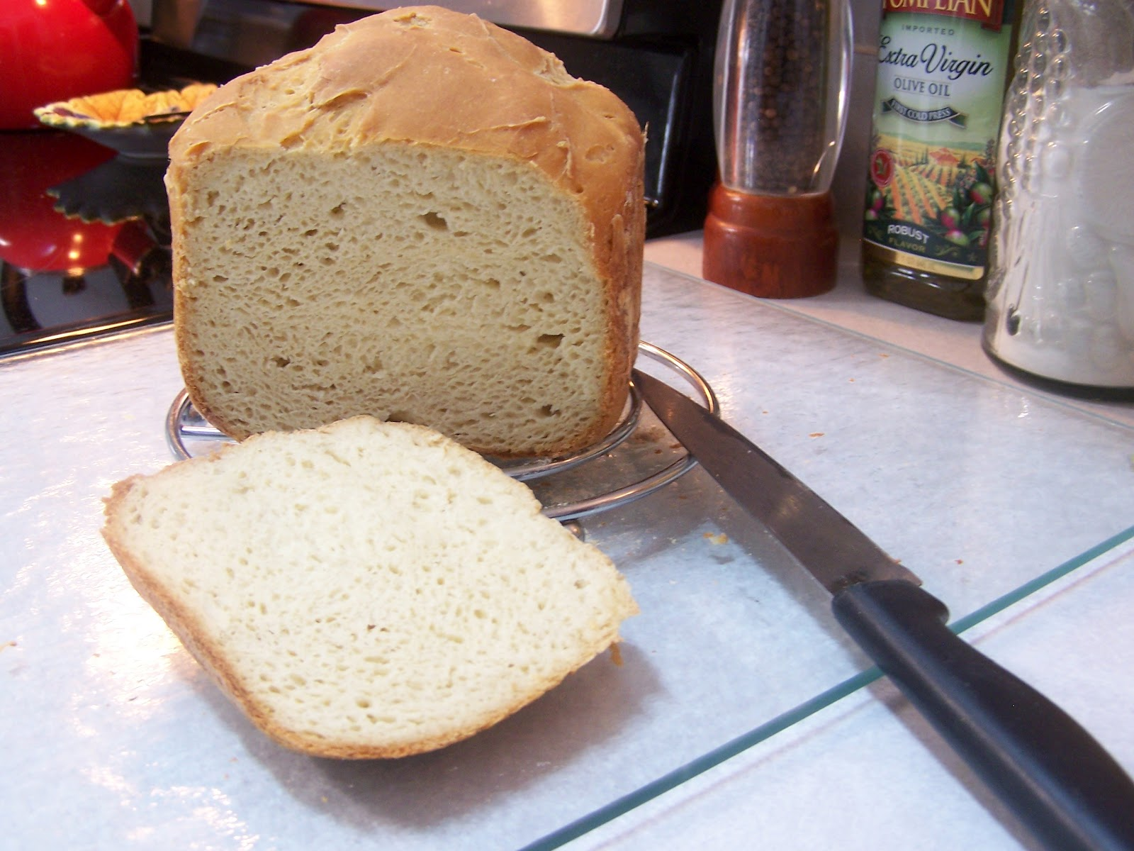 Spectacular Gluten Free Bread in the Bread Machine! xanthan free ...