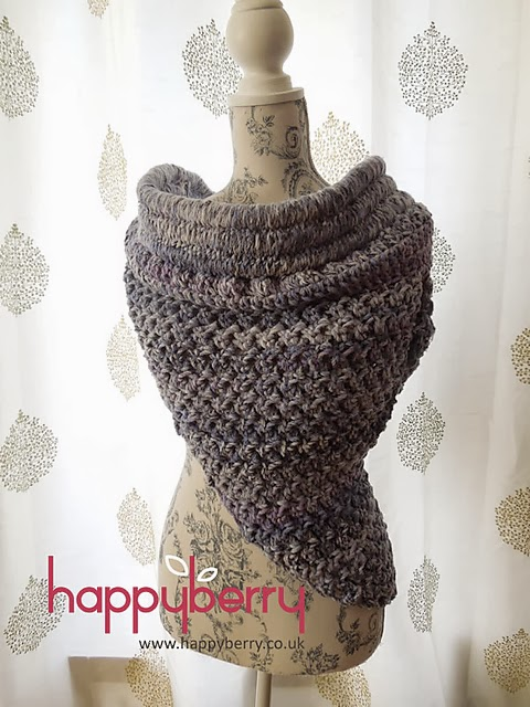 free crochet pattern katniss inspired cowl