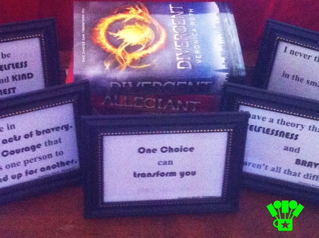 Favorite Divergent Quotes Free Printables by Kims Kandy Kreations