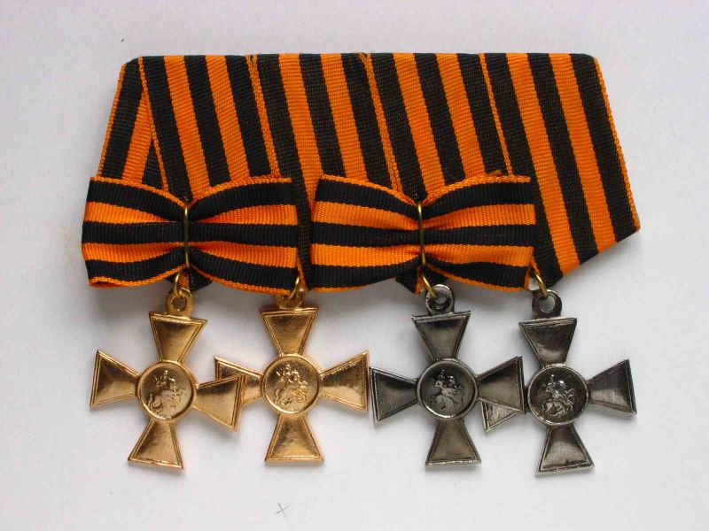 За какие воинские заслуги награждались российские