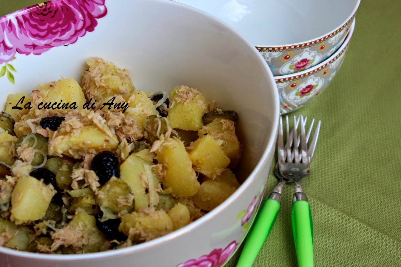 insalata di patate - salata orientala