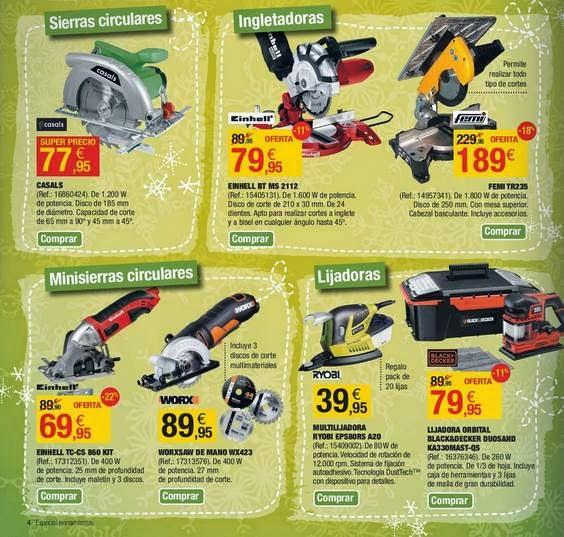 ofertas de herramientas LM 12-2014