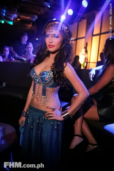 bangs garcia at 2013 fhm halloween ball 02