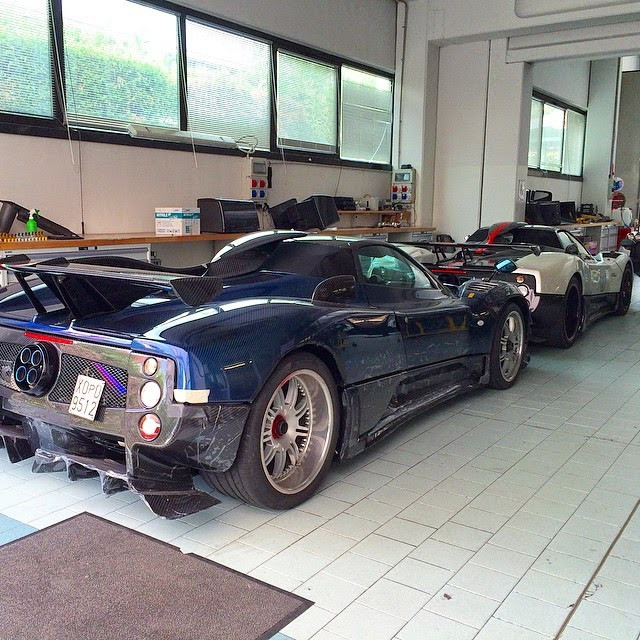 Prototype 0: Prototype 0 Presents The First Pagani Zonda