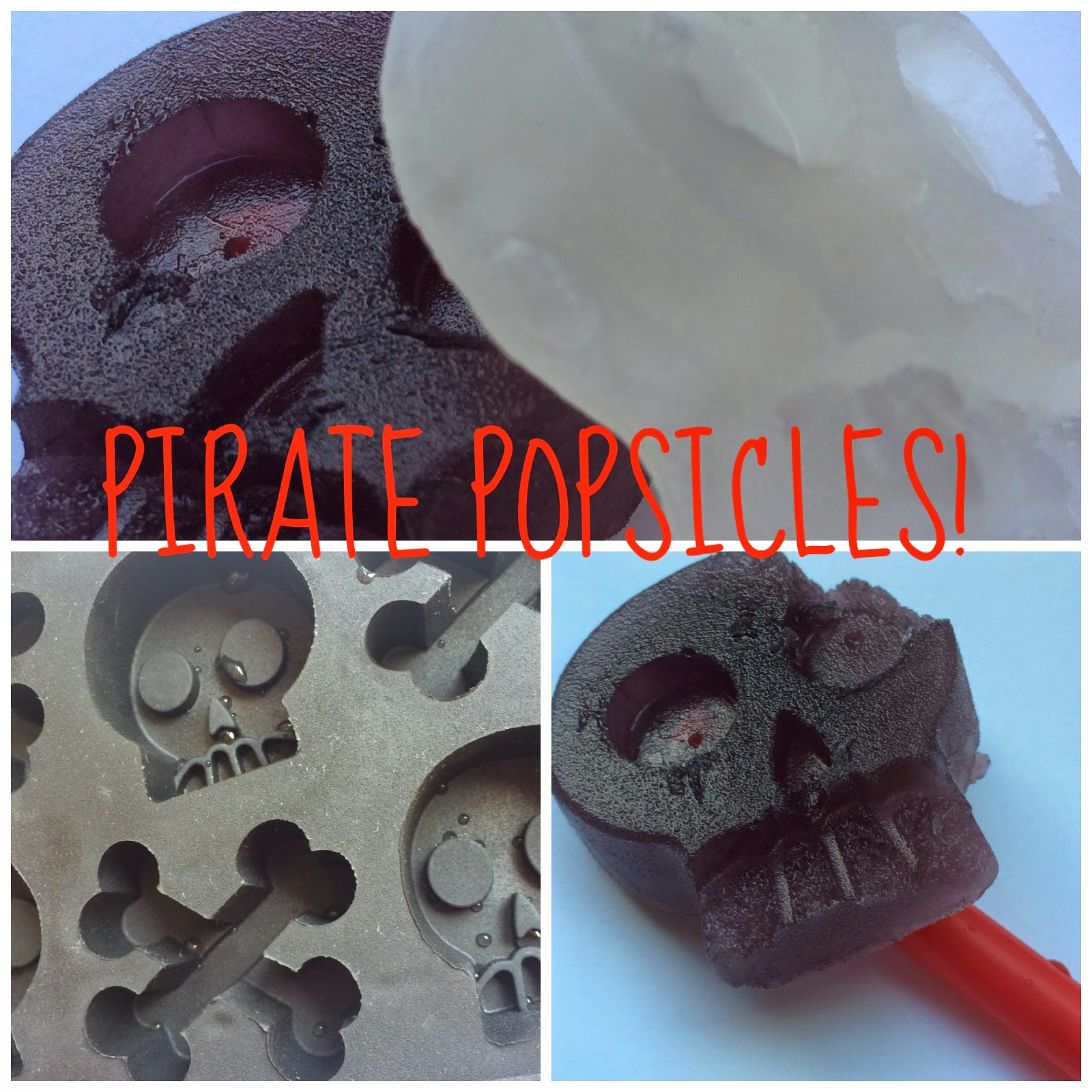 Pirate popsicles