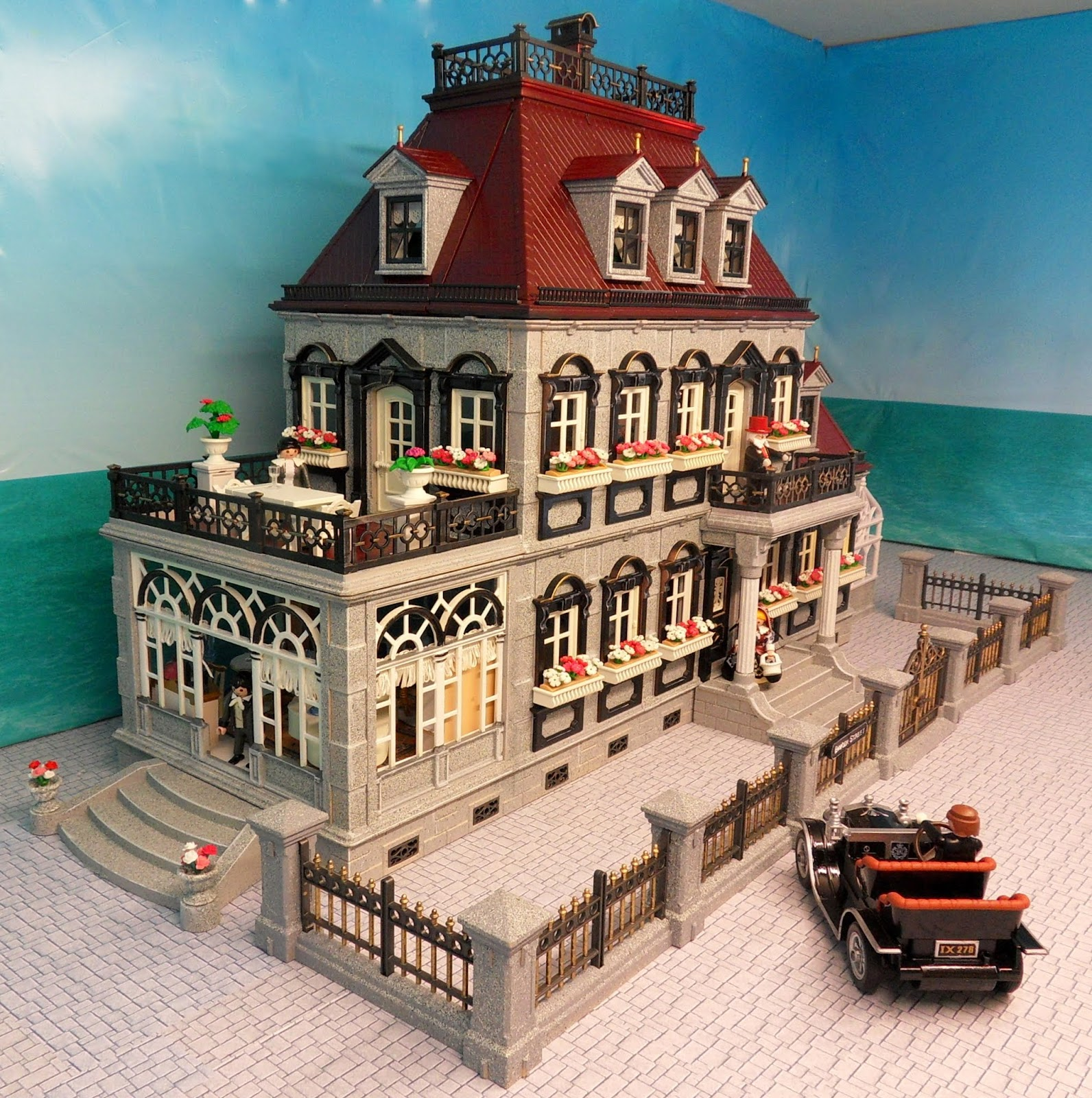 Grey Mansion Emma J 39 S Playmobil