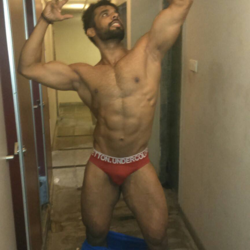 nude desi indian man