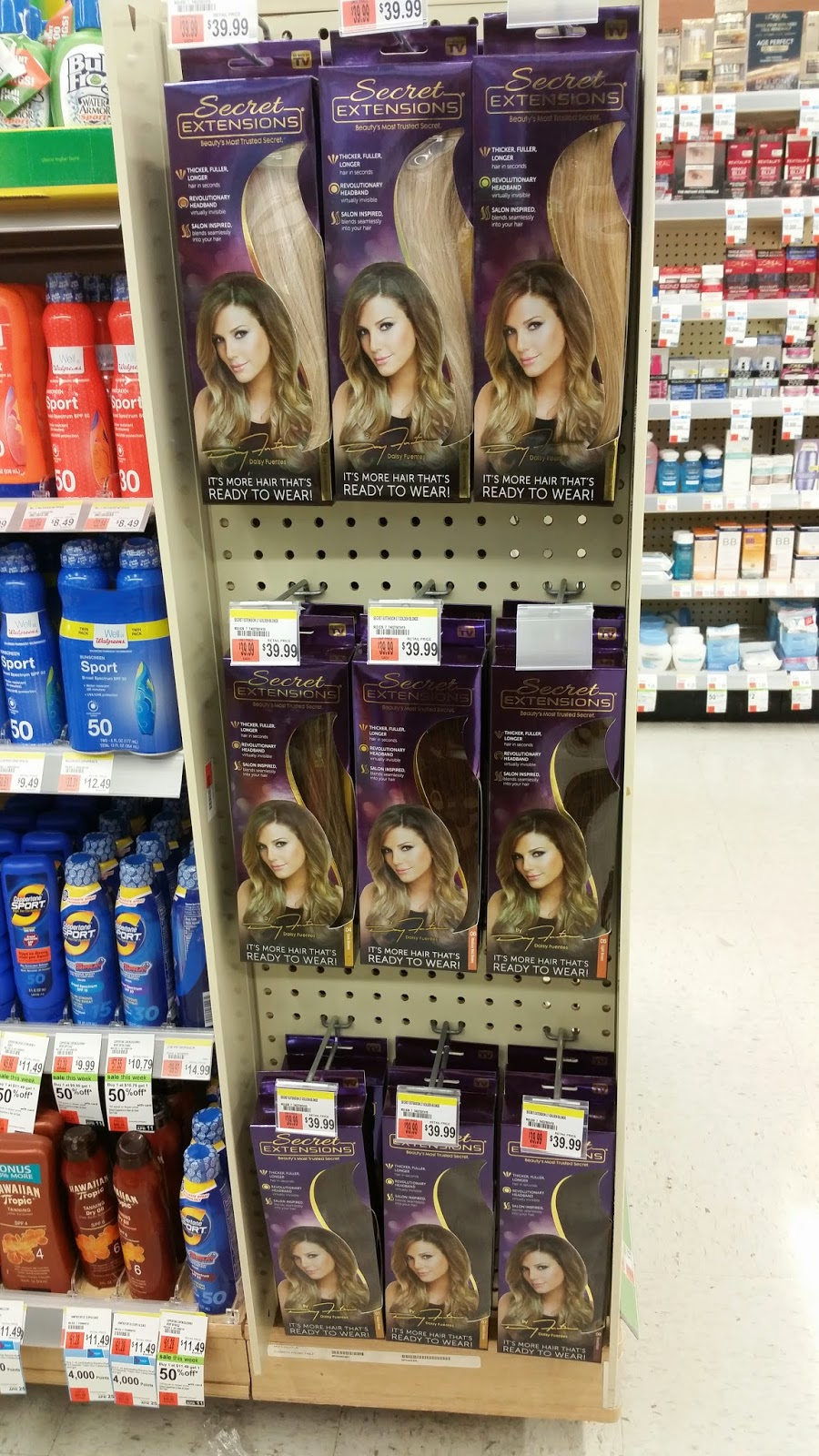 Secret Extensions By Daisy Fuentes Are Now At Walgreens The