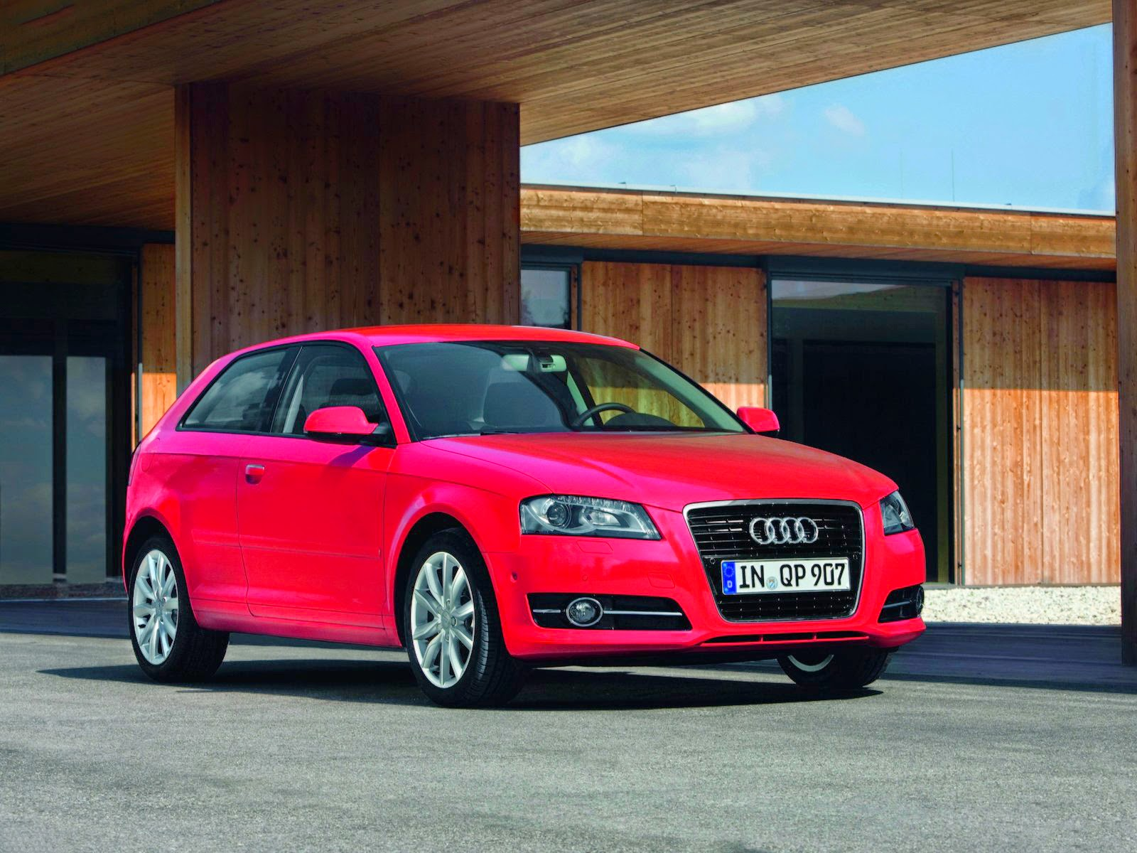 2011 audi a3 front view