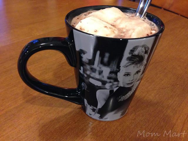 Hot cocoa means Audrey Hepburn MUG