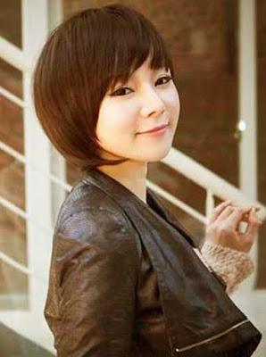 potongan rambut bob pendek wanita asia 2016_655478