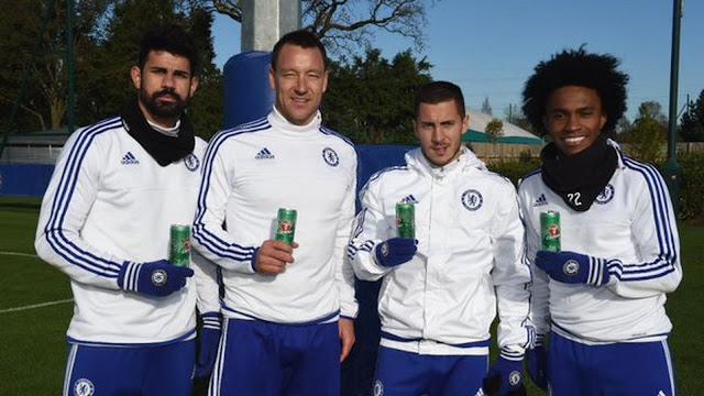 El Chelsea también vende su ropa de entrenamiento