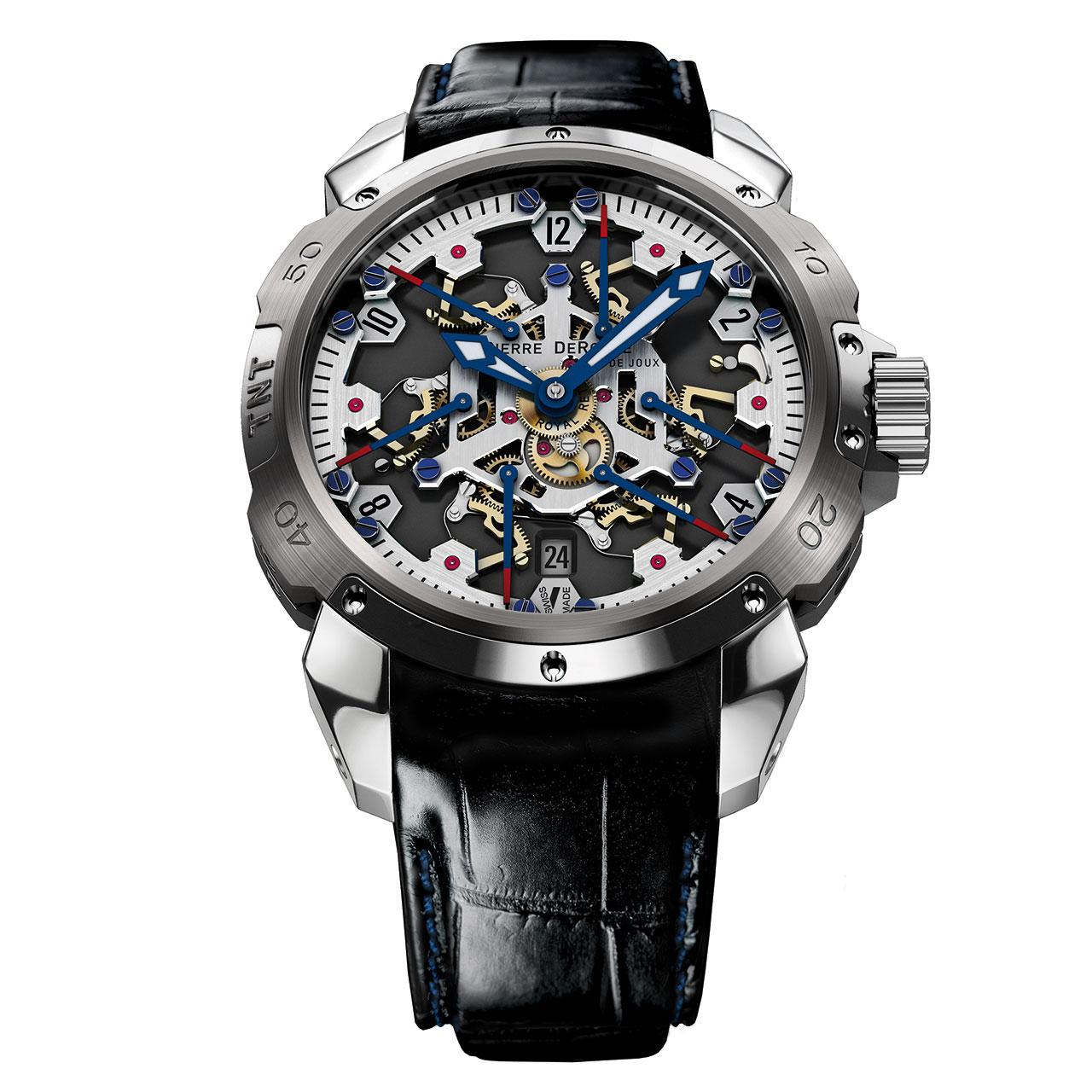 Pierre DeRoche TNT Royal Retro 43 Watch