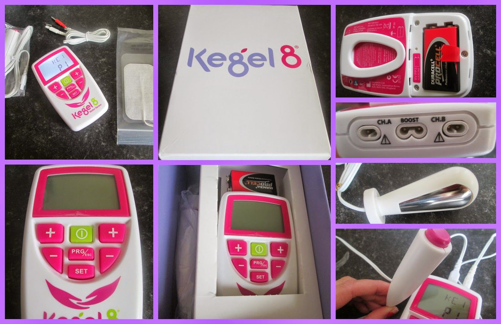 Kegel8 Mother Nurture Electronic Pelvic Toner Tens Review My