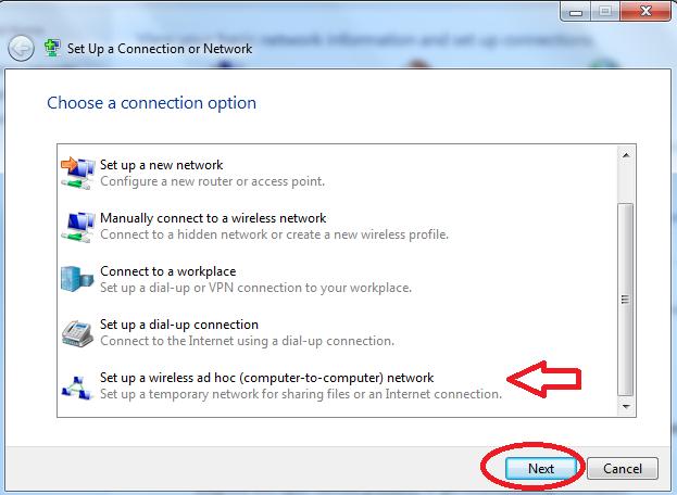 Hướng dẫn cách phát để share mạng wifi trên win 7