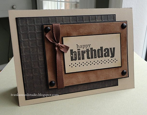 Ivankas Card Studio Happy Birthday Card