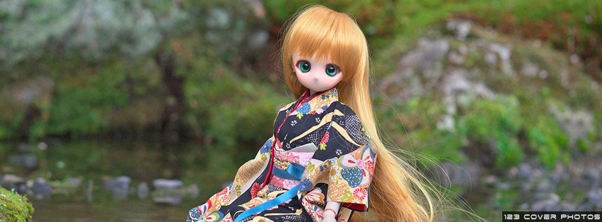 Cute Doll 5 FB Cover Photo