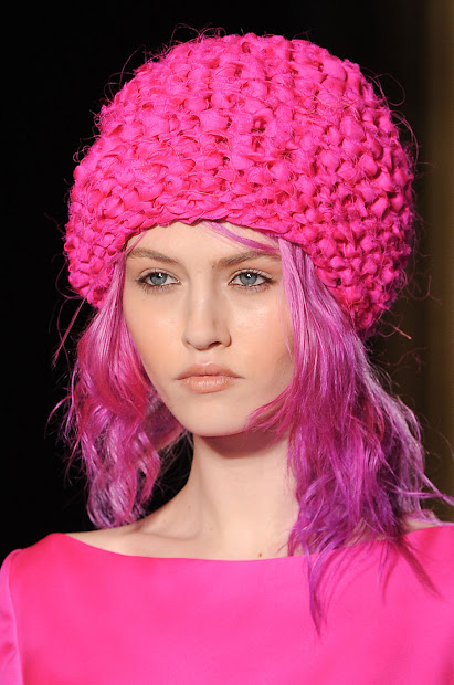 bijoux editrix hot pink head-toe