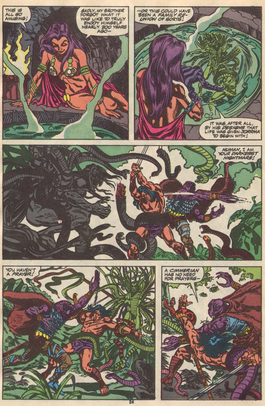 Conan the Barbarian (1970) Issue #237 #249 - English 19