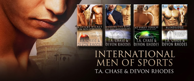 International Men of Sports series at Totally Bound