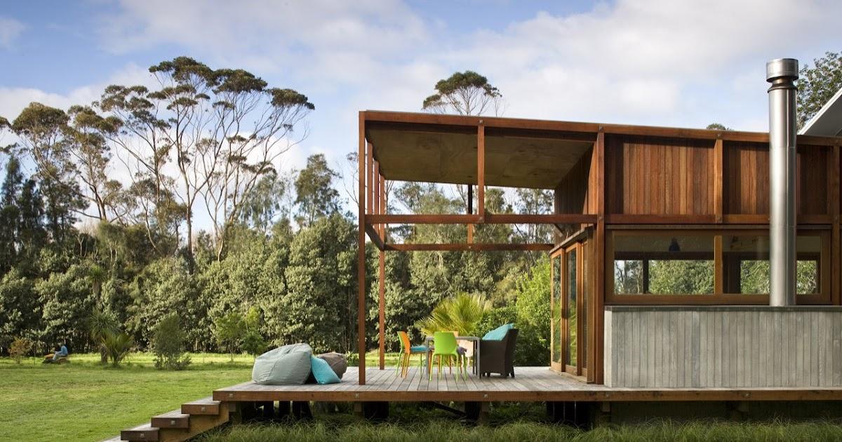 gambar rumah model minimalis kayu