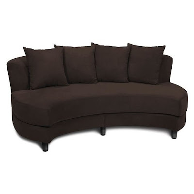 Avenue Six Roundabout Oval Lounger Modern Furniture Picture