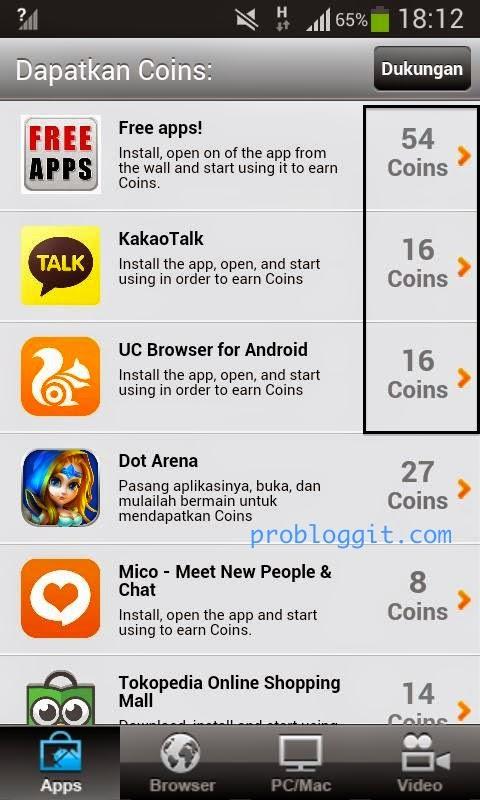 MintCoins - Aplikasi Penghasil Dollar di Android Dengan Minimal PayOut Yang Rendah