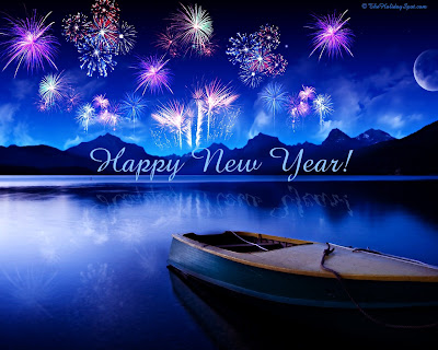 Happy New Year 2013 Firework Wallpaper