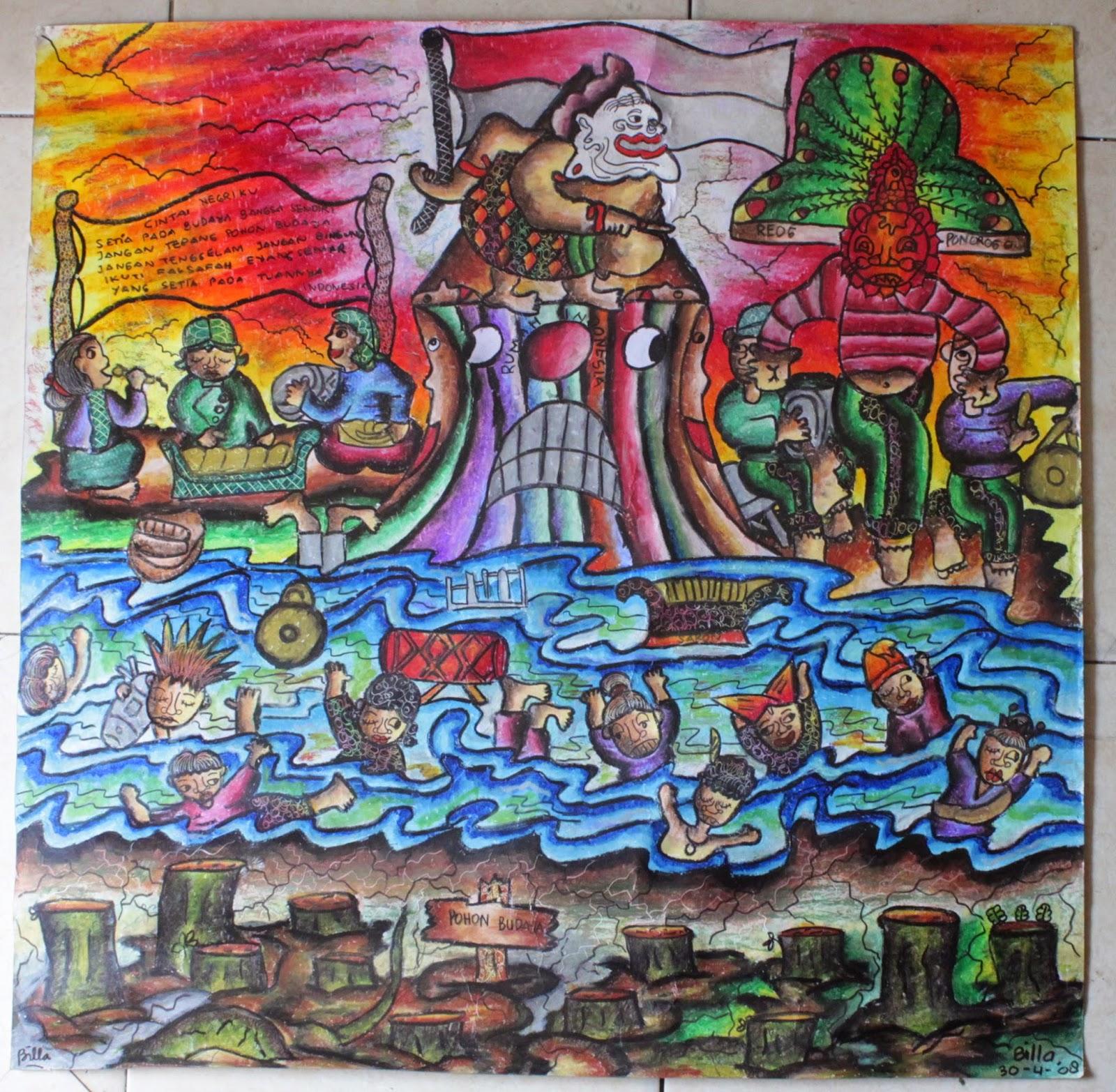 CINTA NEGERIKU I Pohon2 budaya asli Indonesia sdh banyak ditebang digantikan dengan budaya asing