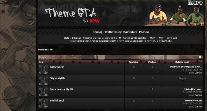 GTA Theme