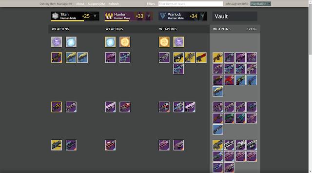 destiny inventory manager