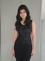 Alekya Photos in Black at Aa Aiduguru Press meet-cover-photo
