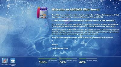 ASCOOS Web Server, Server Tool