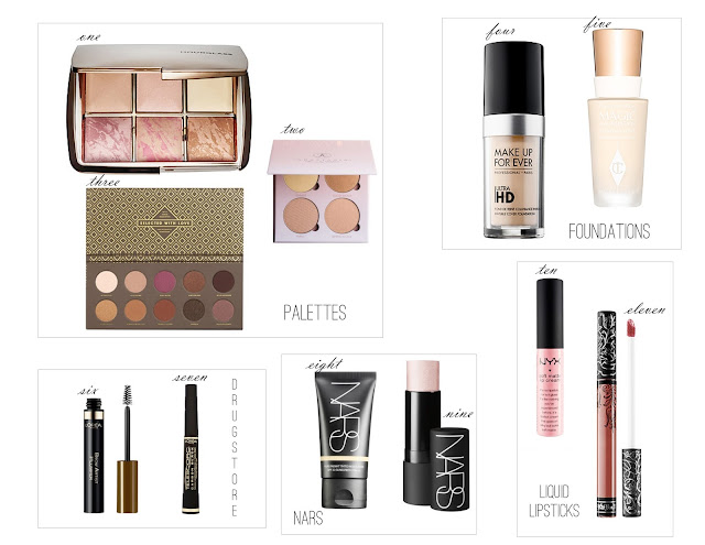 2016 beauty wishlist, makeup wishlist,