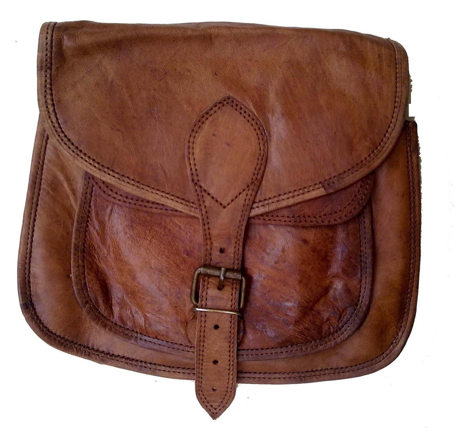 vintage leather bag leather journal