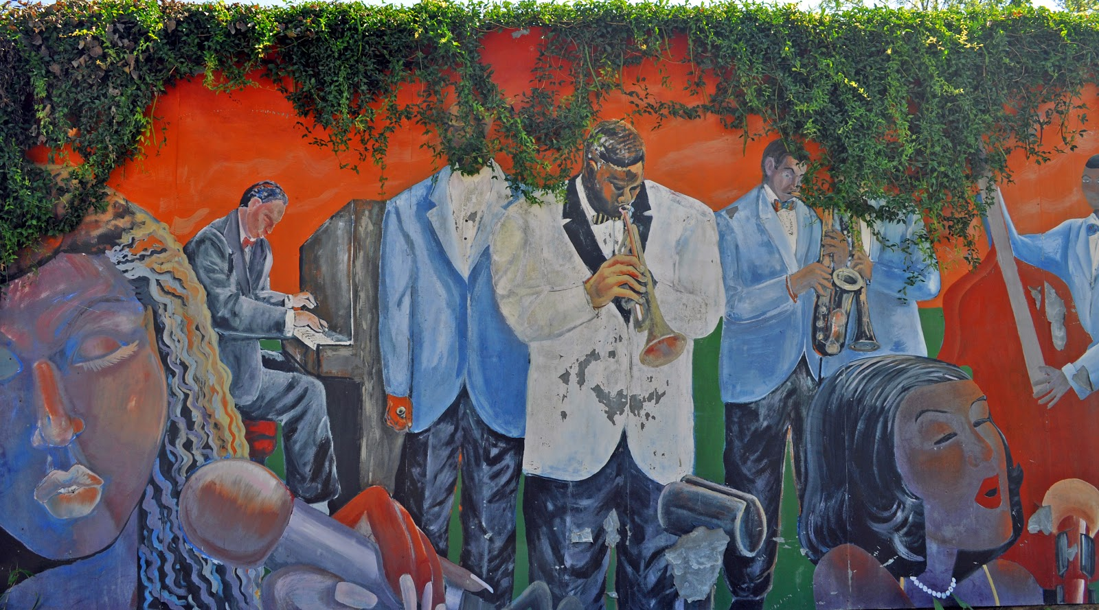 Paint talks new orleans african american museum for African american mural
