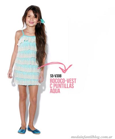 vestidos niñas queen juana verano 2014