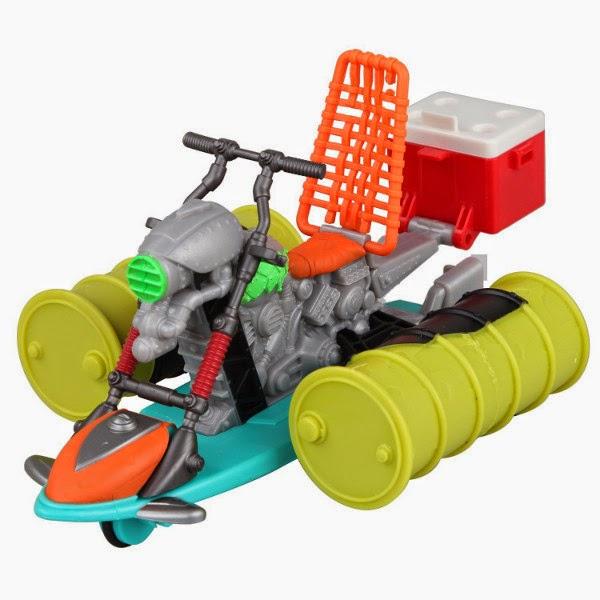 TOYS : JUGUETES - LAS TORTUGAS NINJA Ninja Turtles - Mutant Ooze Sewer Cruiser  Producto Oficial | 94053 | Playmates | Giochi Preziosi  A partir de 4 años