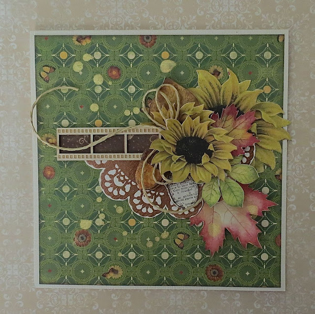 Enchanted Harvest & Copper Filigree Rubons Cards by Megan Gourlay for BoBunny