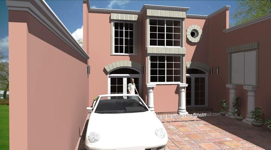 Proyectos virtuales dise o de casa habitaci n en 3d arq for Diseno de interiores y exteriores
