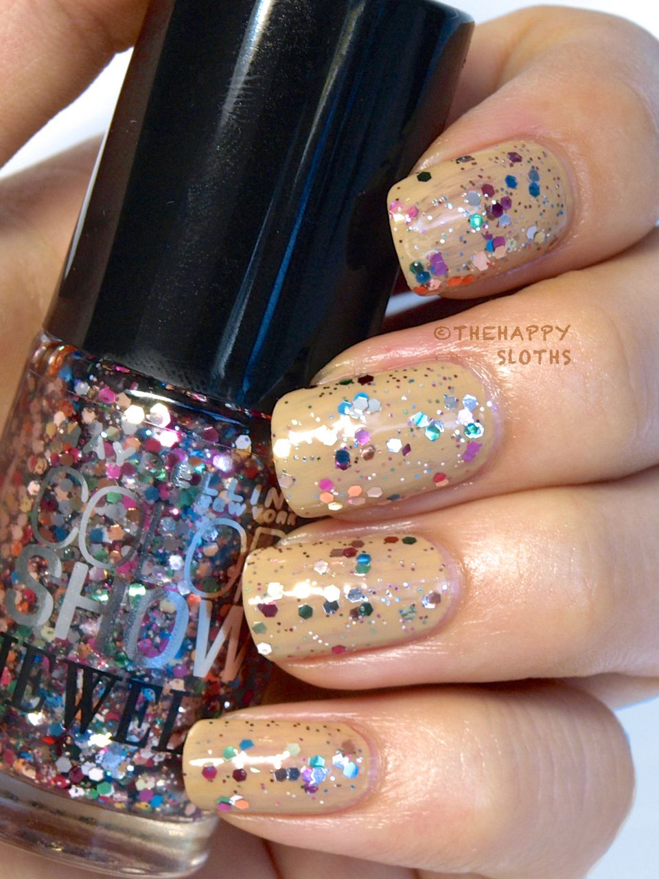 "Color Show Veils Nail Polish in ""Mosaic Prism"": Review and Swatches"