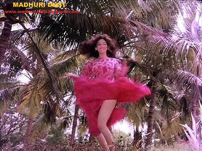 Madhuri Dixit Hot and Sexy Legs and lower part nude