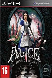 Jogo Alice Madness Returns PS3