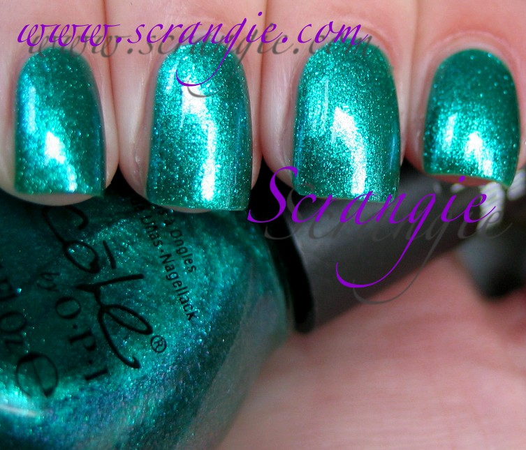 Scrangie: Vacation Spam: Nicole by OPI Edition