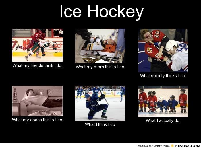 frabz Ice Hockey What my friends think I do What my mom thinks I do Wh e4de1b the haggard hockey mom