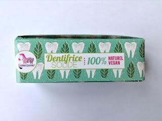 Dentifrice Solide Vegan Menthe Lamazuna