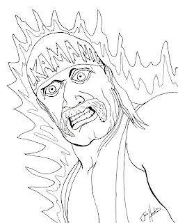 Get Free High Quality HD Wallpapers Wwe Coloring Pages Hulk Hogan